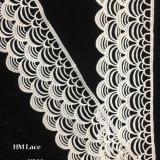bande à crochet de métier de la garniture DIY de lacet de 7cm, qualité épaisse de bord de feston personnalisée garnissant le lacet Hmhb1115