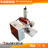 machine d'inscription de laser de la fibre 20W pour le produit de matériau en métal