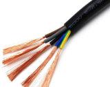 Куртка с ПВХ изоляцией ПВХ гибкие медные электрические провода 3*1,5 3*2,5 3*4 Rvv электрические провода