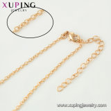 44552女性のためのXupingのネックレスのファッション小物18Kの金によってめっきされる宝石類