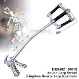 Reino do Anime Larp Keyblade 90cm HK8482 dos corações