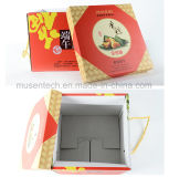 La Plaza de alta calidad de impresión elegante caja de papel para regalo