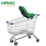 Безопасности детского сиденья для покупок тележки супермаркет тележки
