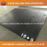 Chrom-Karbid überlagertes Fluss-Stahl-Platten-haltbares Stahlblech