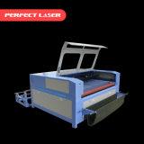 De automatische Scherpe Machine van de Laser van de Kleding/van de Kleding/van het Kledingstuk met AutoVoeder
