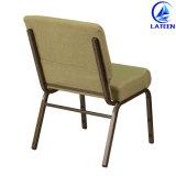좋은 가격 편리한 직물 방석 금속 교회 의자