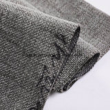 Haute qualité 100% polyester Tissu de toile de lin/canapé