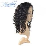 Capelli umani del Virgin dell'onda 130% di densità della parrucca piena profonda indiana del merletto