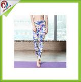 Sublimação personalizado Desgaste Fitness Perneiras Laides Spandex Calças de ioga