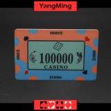 40g는 Ceramic&#160를 주문 설계한다; Poker 칩 카지노 질 세라믹 카지노는 잘게 썬다 (YM-CP008)