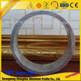 Tubo/tubo di alluminio vuoti di alluminio dell'espulsione personalizzati fornitore del grande diametro della sezione della Cina