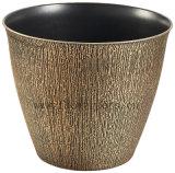 装飾的なプラスチック植木鉢(KD9131S-KD9133S)