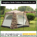 4-person Two-Layer Waterproof Folding 4 Saison Camping Square Tent