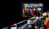 屋内ゲームセンター32インチのレースカーのゲーム・マシン