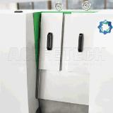 Shredder e máquina plásticos de Pelletizier para o recicl portas adentro