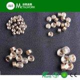 Tornillo de enchufe Hex inoxidable de cobre amarillo del socket del acero SS304 (DIN908)