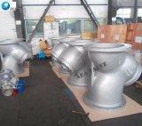 Aço Carbono fundido DIN Wcb GS-C25 Tipo Y do flange do filtro com tela de aço inoxidável