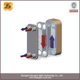 Nuevo tipo cambiador de calor cubierto con bronce SS316 de enfriamiento de la placa del líquido