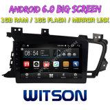 "Witson 9"" на большой экран Android 6.0 DVD для автомобилей KIA K5 2011-2014"