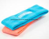 Для изготовителей оборудования на заводе производят пользовательские вышивка хлопка Терри бейсбола желтый Sweatband головки блока цилиндров