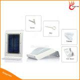 IP65는 태양 센서 옥외 안전에 의하여 강화된 LED 벽 램프 태양 정원 빛을 방수 처리한다