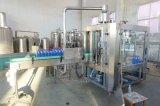 Agua de soda carbónica de la bebida del refresco del animal doméstico de botellas de la botella automática del cristal W 3 en la cadena de producción de la planta de embotellamiento para la Coca-Cola de Pepsi