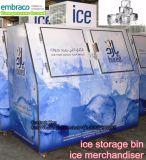 Eis-Kasten-Verkaufsberater mit Embraco Kompressor
