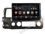 """Grand écran 10,2"""" Witson Android 6.0 voiture DVD pour Honda Civic 2006-2009"""