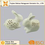 イースターウサギの陶磁器の香Burnner及び夜ランプ