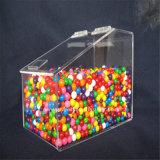 Conteneurs de sucrerie/distributeur en plastique sucrerie de plexiglass avec l'épuisette (BTR-K4037)
