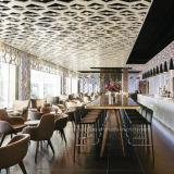 (SD3022) Conjunto de madera moderno de los muebles de la barra del salón del restaurante del hotel