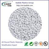 Materia prima plástica Masterbatch antiestático blanco del llenador del PE