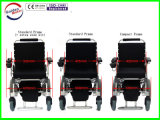 12inch E 왕위 전자 휠체어, Foldable 힘 휠체어