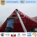 barraca ao ar livre vermelha do Pagoda do evento da feira profissional de 6X6m para a venda
