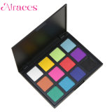 12 colores mate Eyeshadow Palette Palette Shimmer en negrita y colección de brillantes colores del arco iris La sombra de ojos