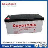 Batteriefeld-Solarbatterie-Solarstraßenlaterneder Qualitäts-48V 600ah mit Batterie-Backup