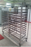 Fabriek Geleverd Karretje voor het Rek van het Metaal van de Machine van de Incubator met Wielen
