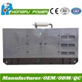Jogo de gerador Diesel silencioso principal da potência 120kw/150kVA Surper com o motor de Shangchai Sdec