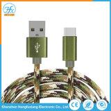 Tipo-c 5V/2.1A che carica il cavo del telefono mobile di dati del USB