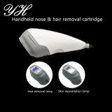 Piccola macchina IPL facciale di rimozione dei capelli per uso domestico