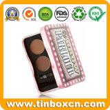 Doos van het Tin van de douane de Rechthoekige Kosmetische voor de Container van de Lippenpommade van de Lippenstift