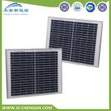 25W 다결정 PV 태양 전지판