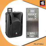 15 Spreker pS-2715au van de FM van de duim USB BR de Plastic Actieve 200W
