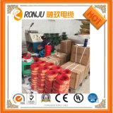 Fil rond de cuivre de gaine de PVC isolé par PVC de faisceau