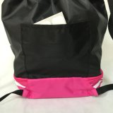190t 210dポリエステルナイロンスポーツのバックパックのドローストリング袋