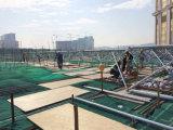 Estructura de material para techos del marco del espacio