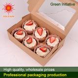 Caixa do alimento da caixa de bolo 2013 com indicador (K135-D)