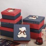 Coffret à bijoux de papier, boîtes de nidification de Noël Cadeau personnalisé