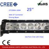 Prémio de 25'' da barra de luz LED de Condução para passeios de jipe ATV, Caminhão (GT3300UM-160W)