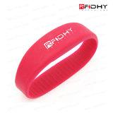 Wristband del silicone RFID di ISO14443A